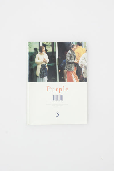 Purple 3: Fashion, Prose, Fiction, Interior...