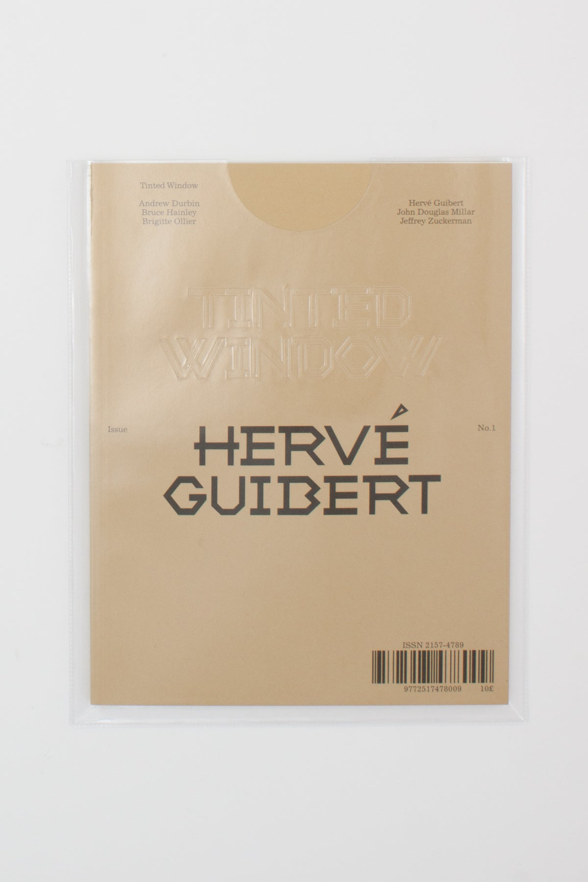 Tinted Window No. 1: Hervé Guibert