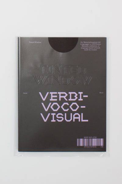 Tinted Window No.2: Verbivocovisual