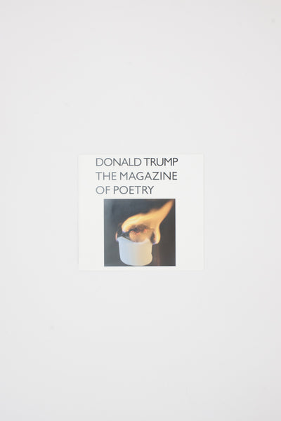 DONALD TRUMP: The Magazine of Poetry - Henry Wessels