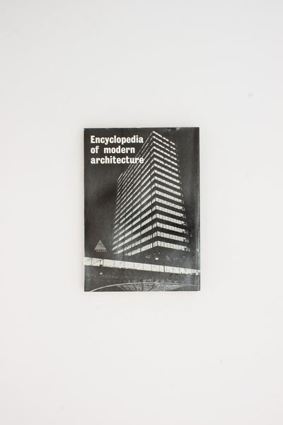 Encyclopaedia of Modern Architecture - Wolfgang Pehnt ed.