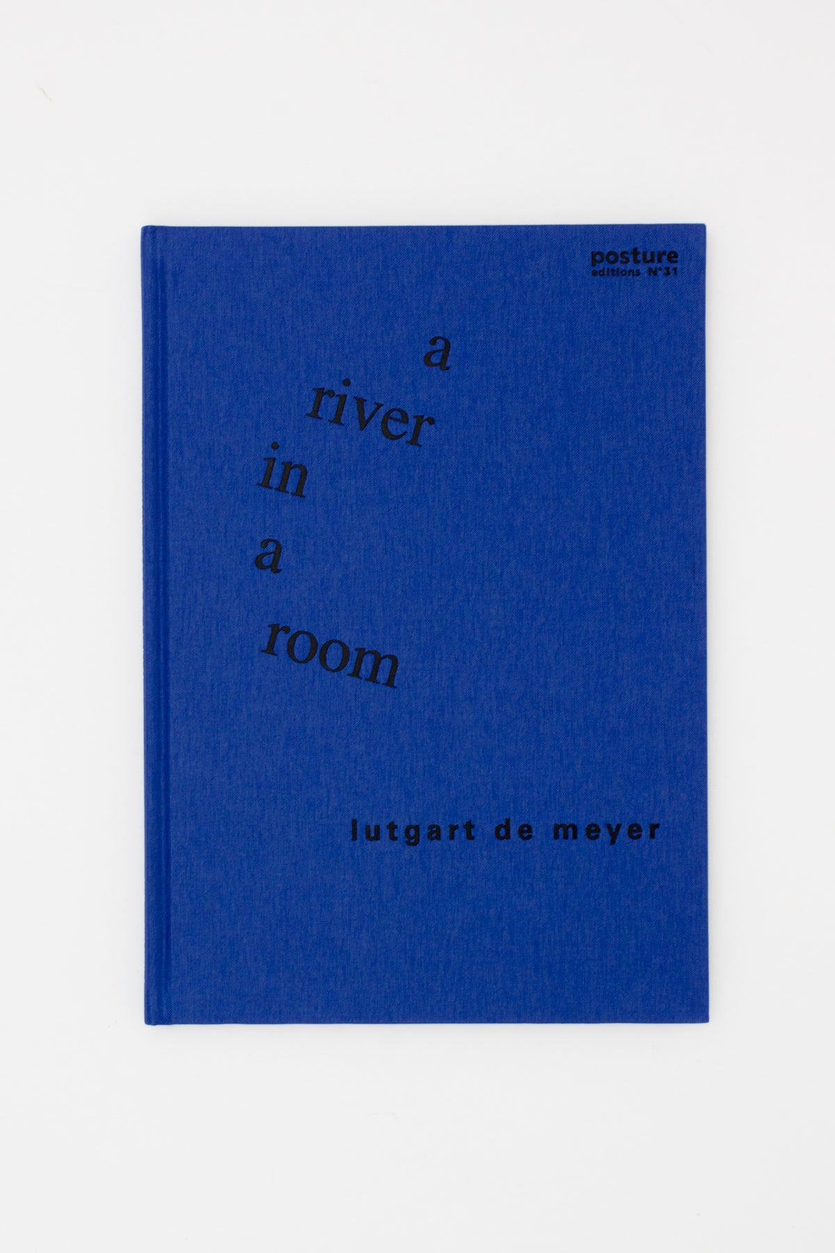 Lutgart De Meyer: a river in a room - Liesbet Waegemans ed.