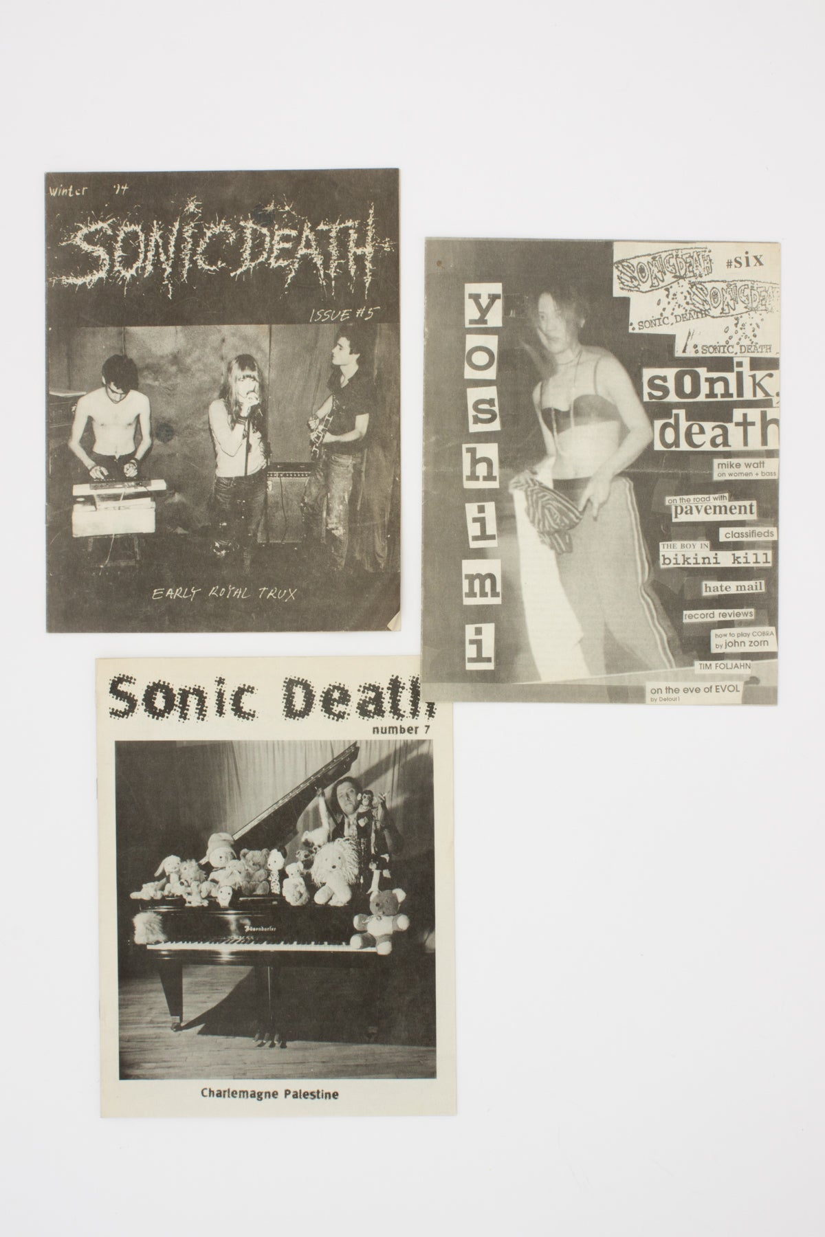 SONIC DEATH (Issues 5-7).