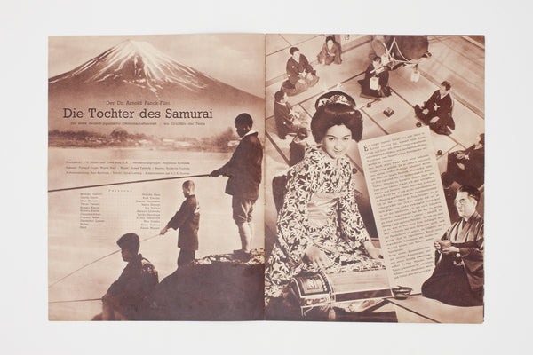 [Press kit for Die Tochter des Samurai]
