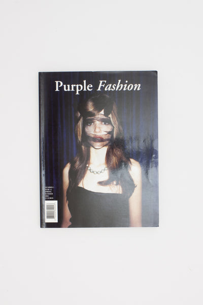 Purple Fashion. Number 1. Year 12. Spring Summer 2004.