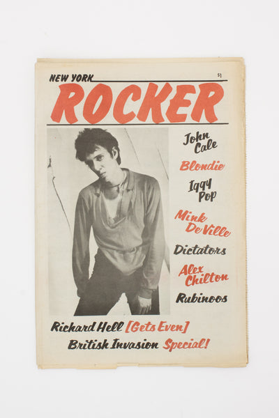 New York Rocker Vol. 1 No. 7 May-June 1977.