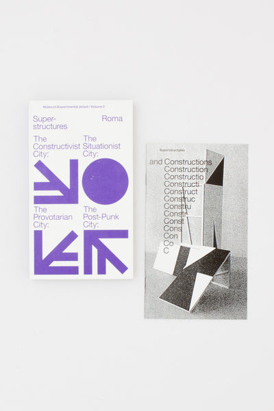 Experimental Jetset - Superstructures (Notes on Experimental Jetset/ Vol. 2)