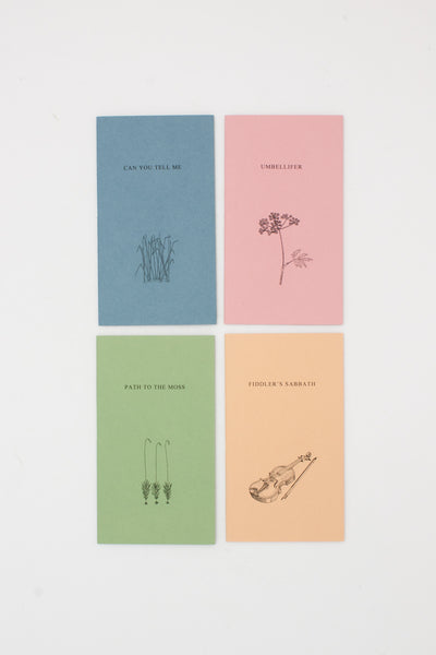 Fourteen Small Books by Moschatel Press - Thomas A Clark & Laurie Clark