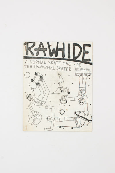 RAWHIDE. First Issue.