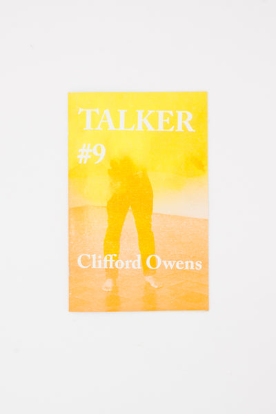 Talker #9 : Clifford Owens