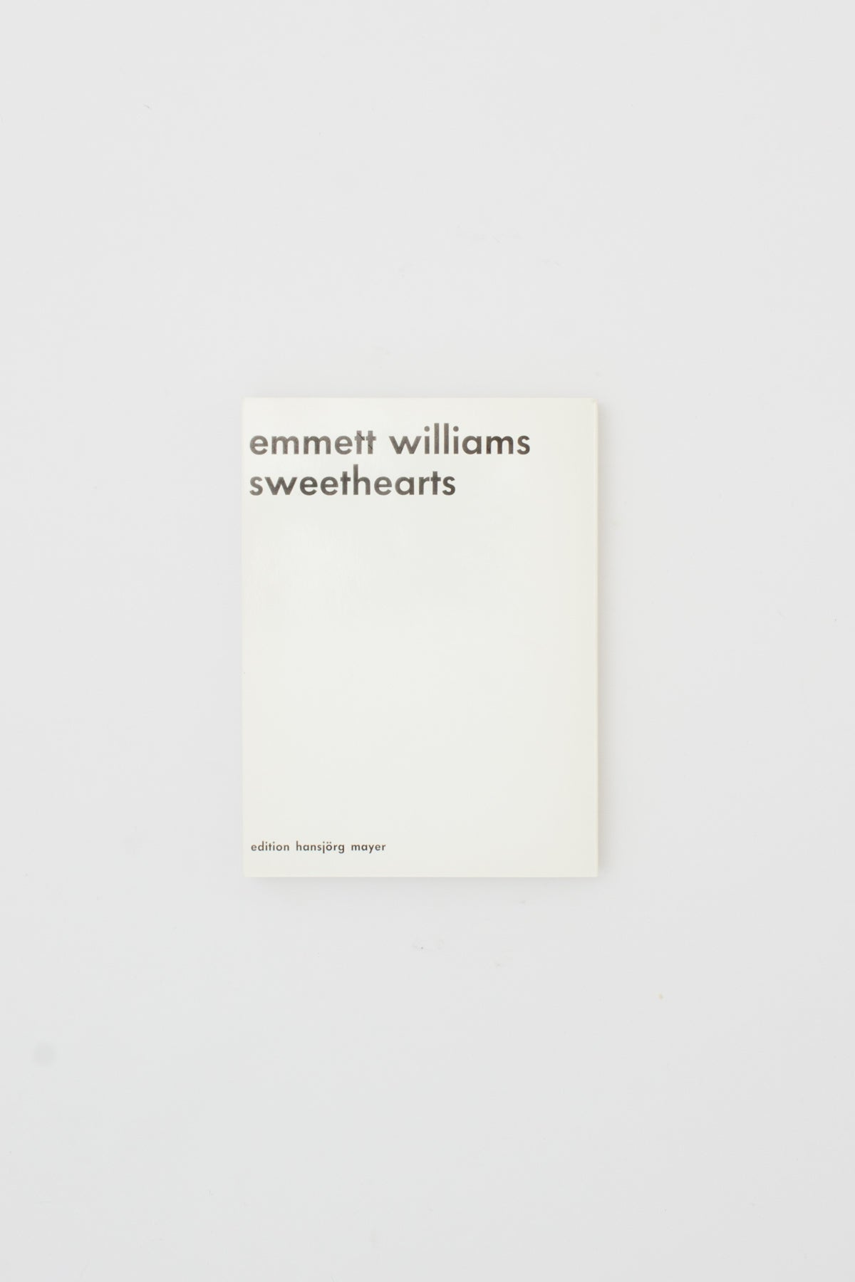 Sweethearts - Emmett Williams