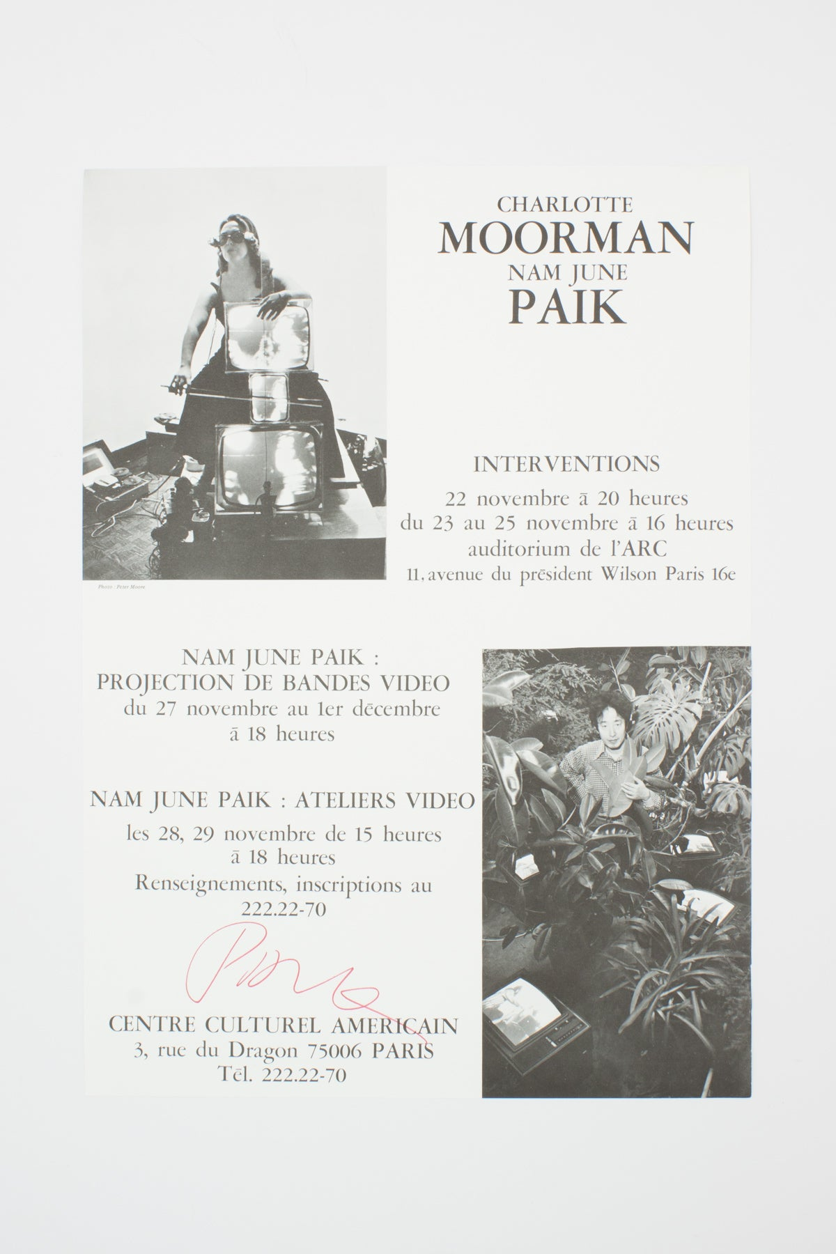 Interventions - Nam June Paik & Charlotte Moorman