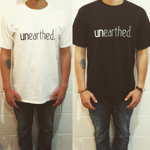 unearthed tees w&b
