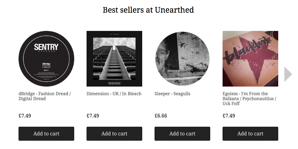 unearthed best sellers