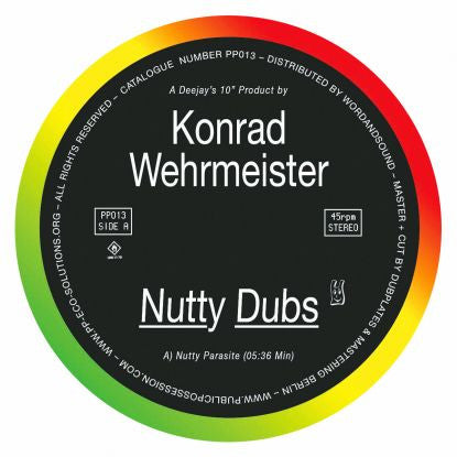 Konrad Wehrmeister - Nutty Dubs EP - Unearthed Sounds