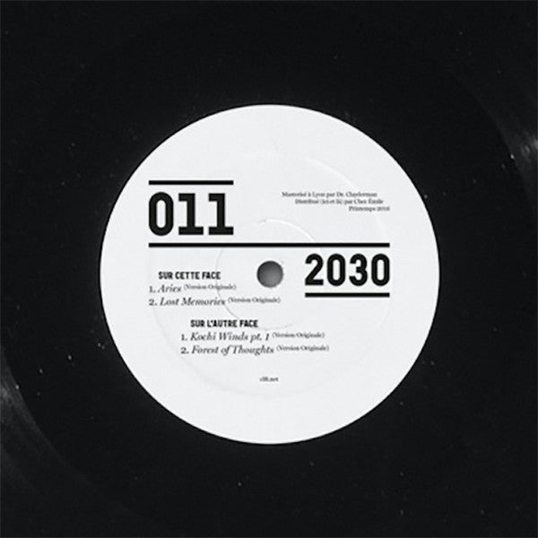 2030 - Prescience EP [Vinyl Only] - Unearthed Sounds