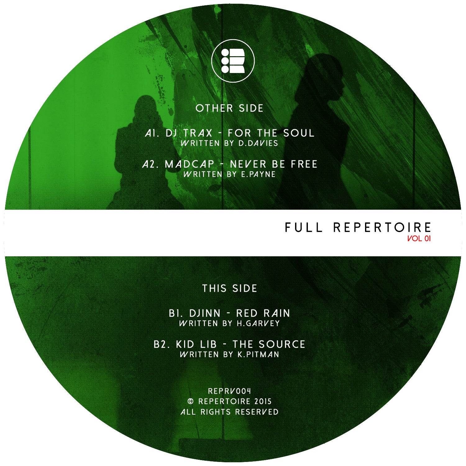 Full Repertoire – Vinyl Sampler - Unearthed Sounds