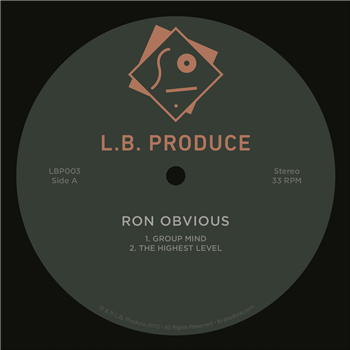 Ron Obvious - Group Mind - Unearthed Sounds