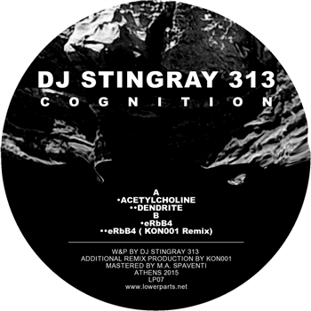 DJ Stingray 313 - Cognition , Vinyl - Lower Parts, Unearthed Sounds