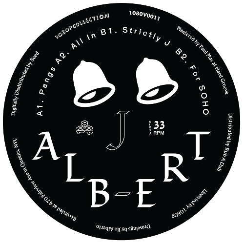 J Albert - Strictly J , Vinyl - 1080P, Unearthed Sounds