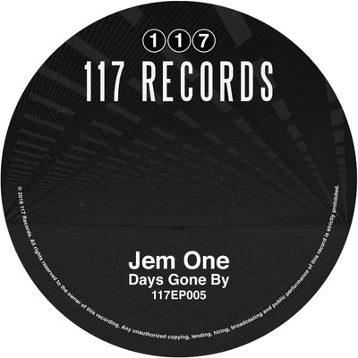 Jem One - Days Gone By [Clear & White Mixed Vinyl] - Unearthed Sounds, Vinyl, Record Store, Vinyl Records