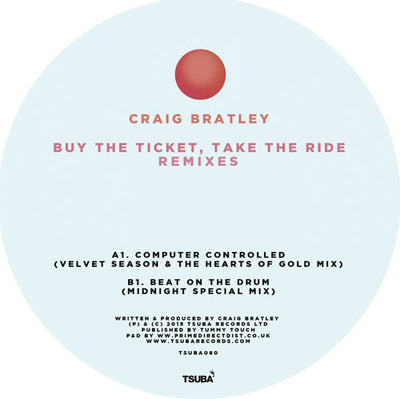 Craig Bratley - Buy the Ticket, Take the Ride - Unearthed Sounds