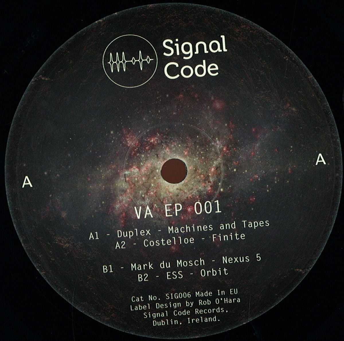 Various Artists - Signal Code EP 001 - Unearthed Sounds