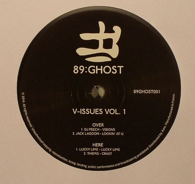 V Issues Vol 1 - Transparent Vinyl - Unearthed Sounds