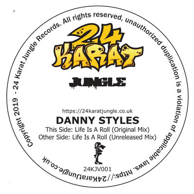Danny Styles - Life Is A Roll Revisited - Unearthed Sounds