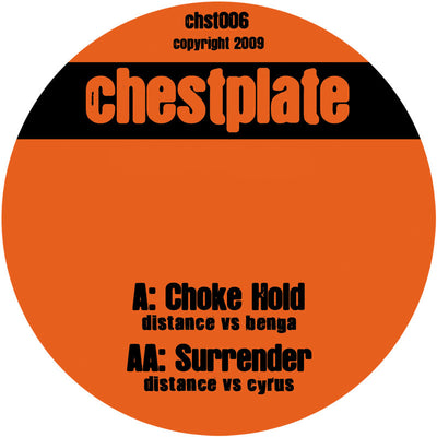 Distance Vs Benga & Cyrus - Choke Hold / Surrender - Unearthed Sounds