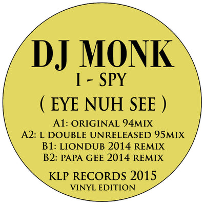 DJ Monk - I Spy (Eye Nuh See) - Unearthed Sounds