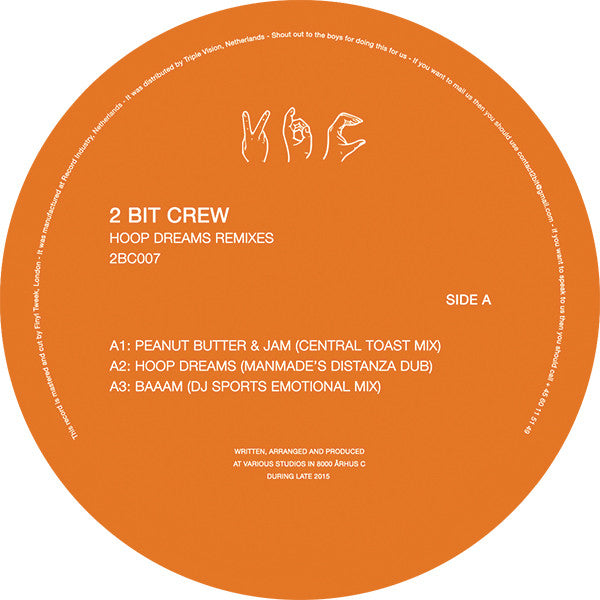2 Bit Crew - Hoop Dream Remixes - Unearthed Sounds