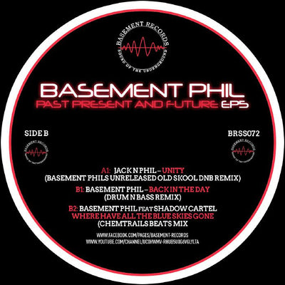 Basement Phil - Past, Present & Future EP 5 - Unearthed Sounds, Vinyl, Record Store, Vinyl Records