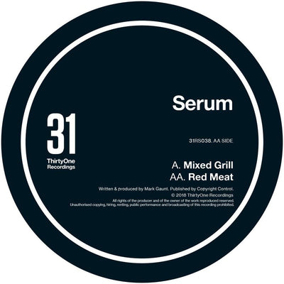 Serum - Mixed Grill - Unearthed Sounds