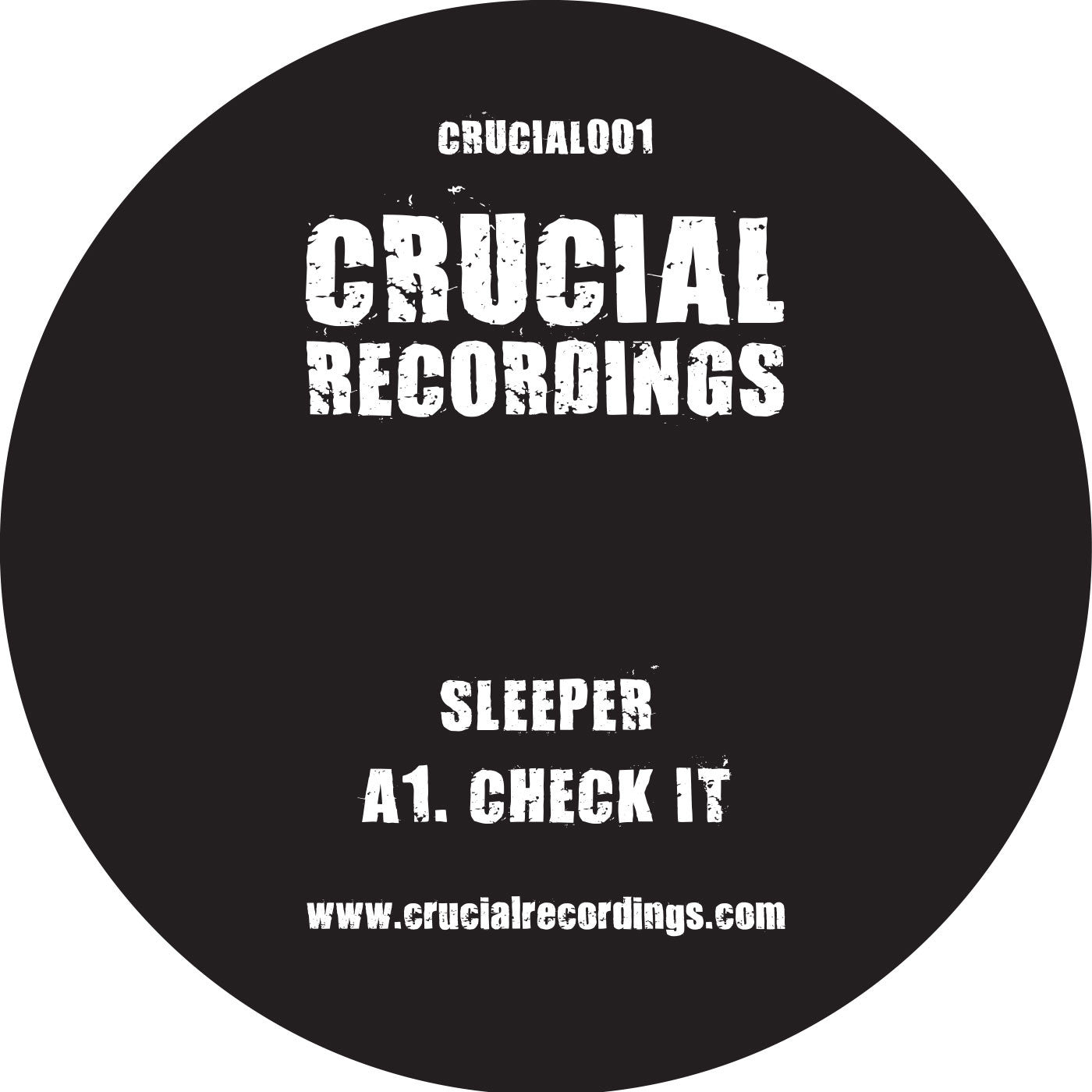 Sleeper - CRUCIAL001 - Unearthed Sounds