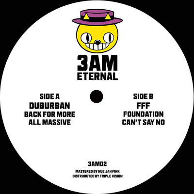 Duburban & FFF - Back For More EP - Unearthed Sounds