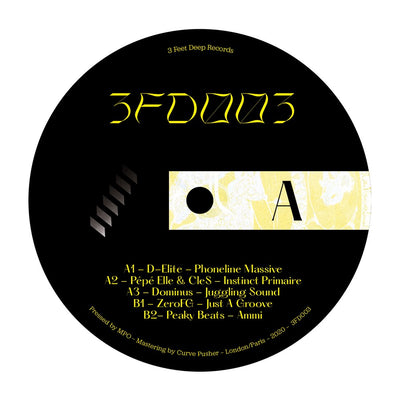 Various Artists - 3 Feet Deep 003 - Unearthed Sounds