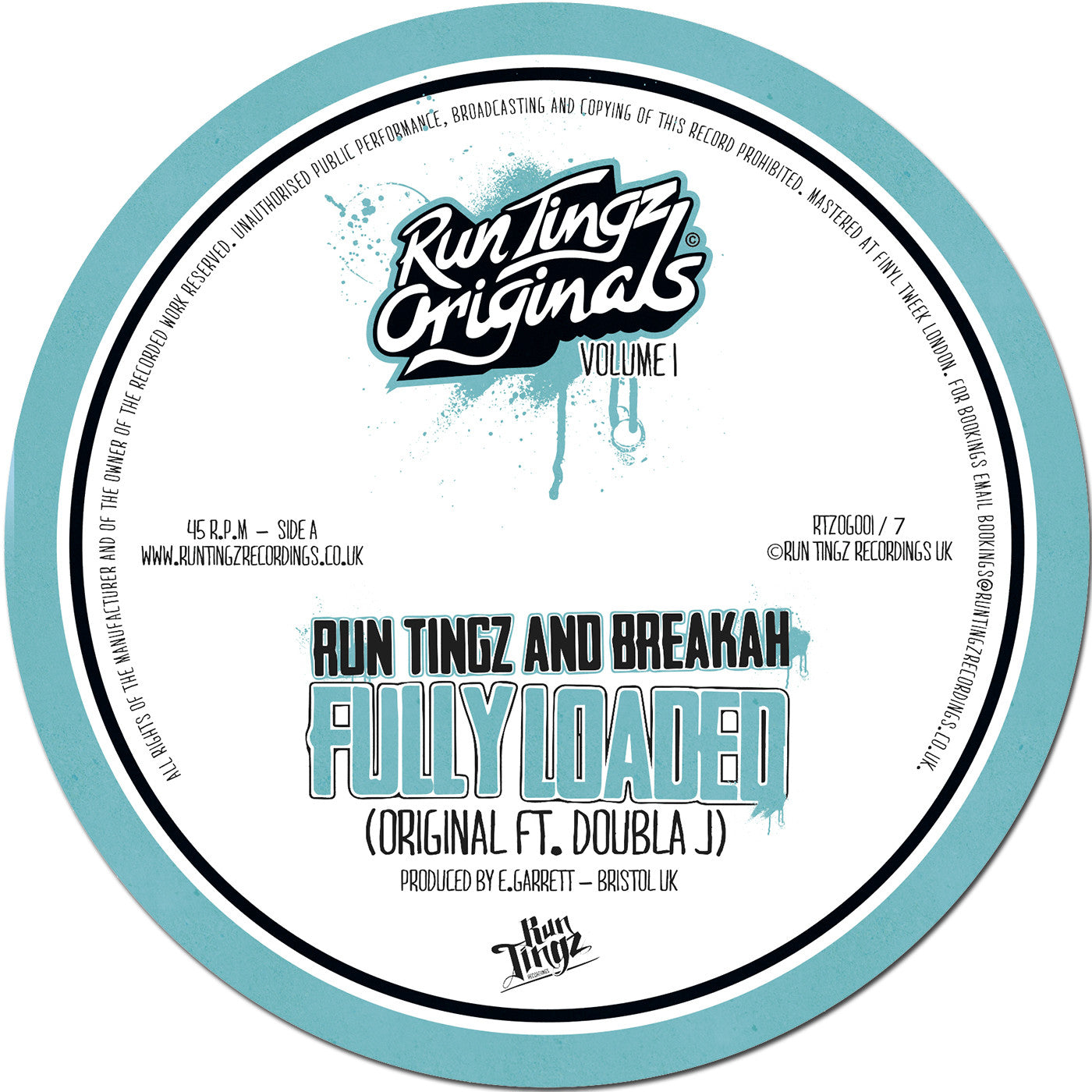 Run Tingz & Breakah - Fully Loaded Feat. Doubla J - Unearthed Sounds