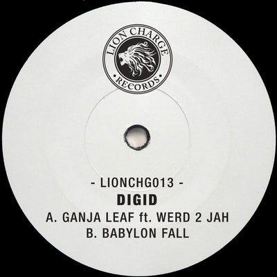 Digid - Ganja Leaf / Babylon Fall - Unearthed Sounds