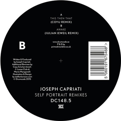Joseph Capriati - Self Portrait Remixes - Unearthed Sounds