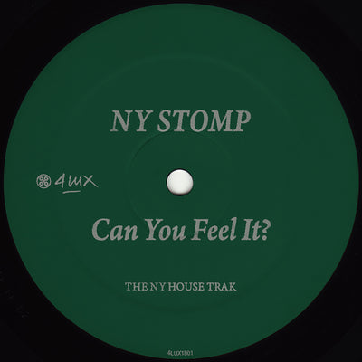 NY Stomp - Can You Feel It? (Re-Cut) - Unearthed Sounds, Vinyl, Record Store, Vinyl Records