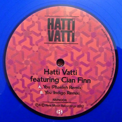 Hatti Vatti (ft. Cian Finn) - You (Phaeleh Remix) / You (Indigo Remix) - Unearthed Sounds