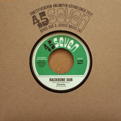Diphasic - Backbone Dub / Reason - Unearthed Sounds