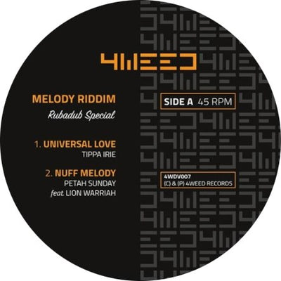 Melody Riddim - Rubadub Special - Unearthed Sounds
