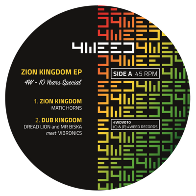 Matic Horns, Vibronics, Dread Lion & Mr Biska - Zion Kingdom