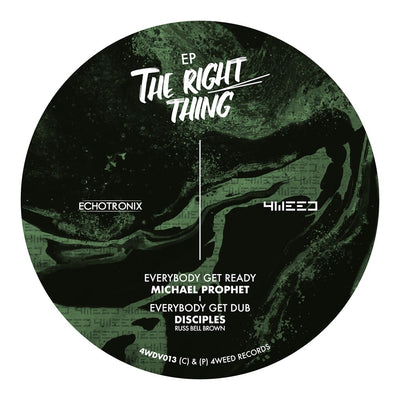 Various - The Right Thing EP - Unearthed Sounds
