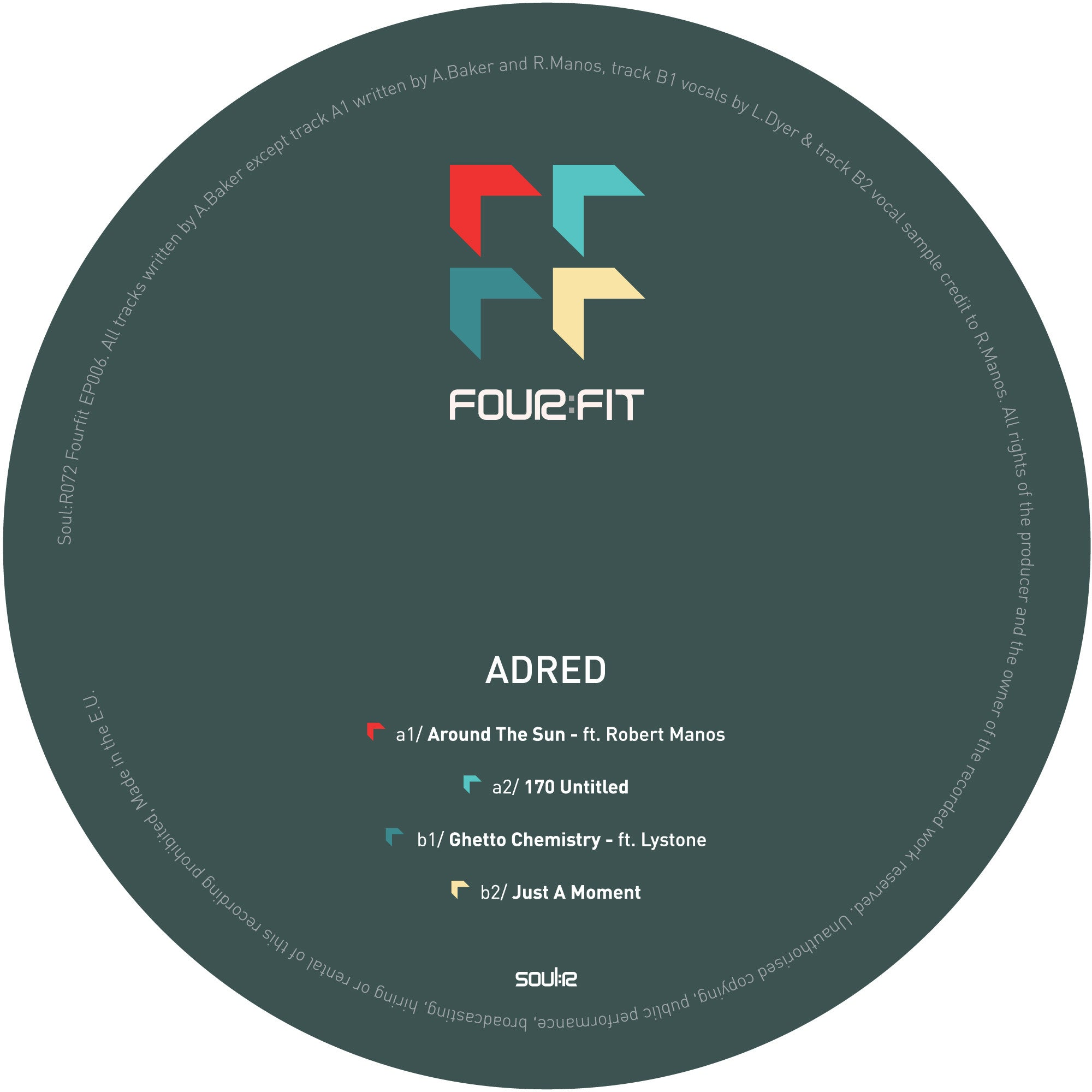 Adred - Fourfit 006 EP - Unearthed Sounds