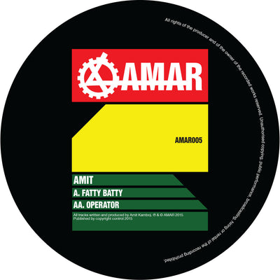 AMIT - Fatty Batty / Operator - Unearthed Sounds