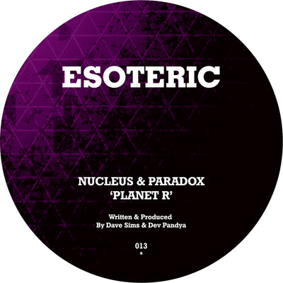 Nucleus & Paradox - Planet R / T Breaks In - Unearthed Sounds, Vinyl, Record Store, Vinyl Records