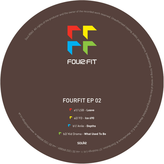LSB, FD, Anile & Kid Drama - Fourfit EP 02 - Unearthed Sounds